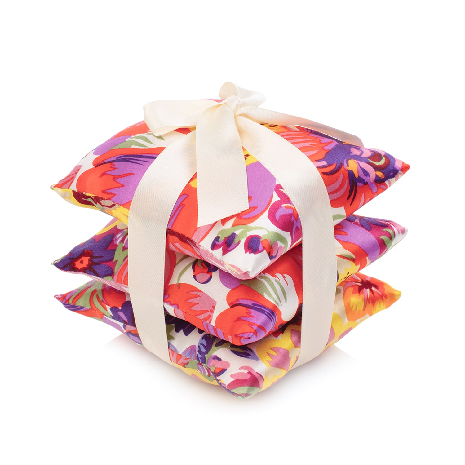 Bouquet Silk Sachet Set
