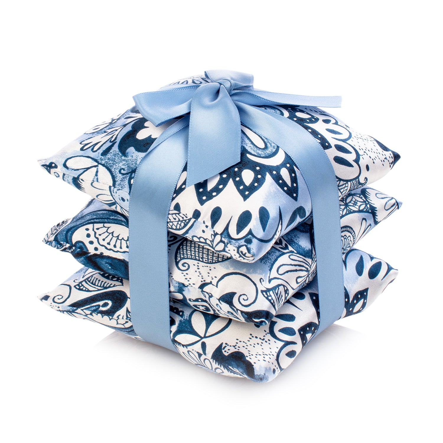 Delft Silk Sachet Set