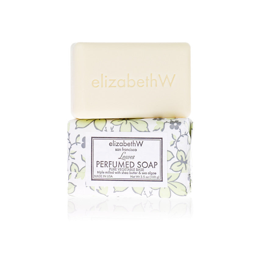 elizabethW Bar Soap Leaves