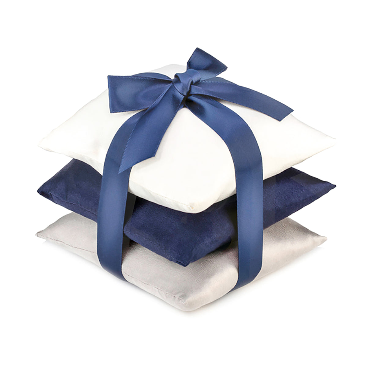 Navy Silk Sachet Set