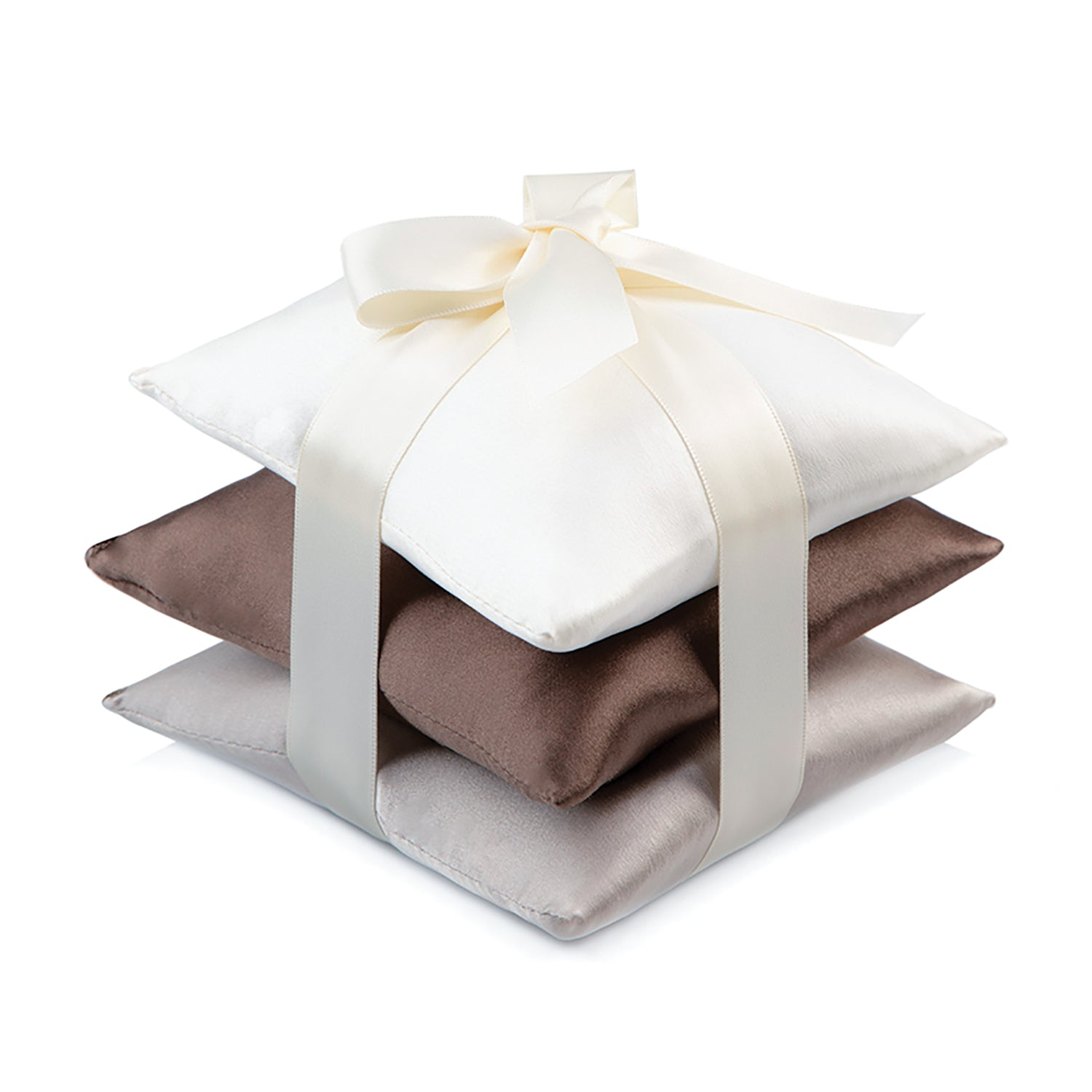 Cocoa Silk Sachet Set