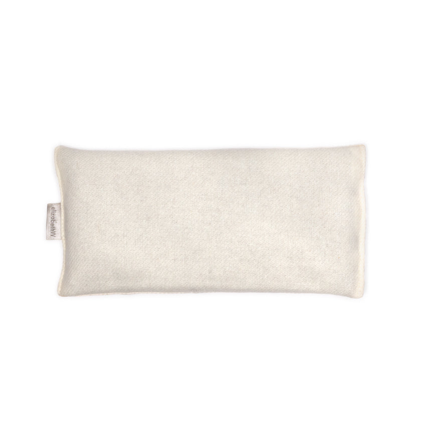 Wool - Cream Eye Pillow