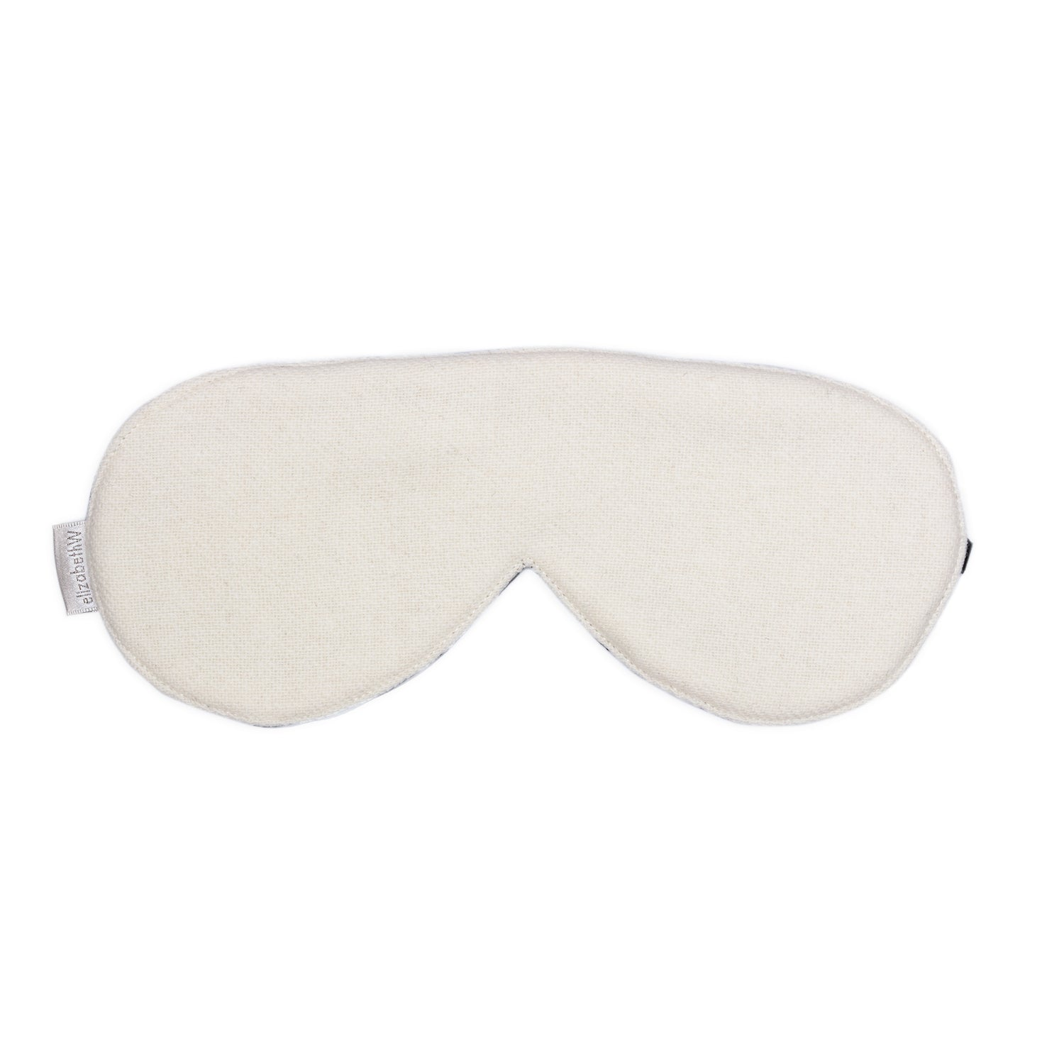 Wool - Cream Sleep Mask
