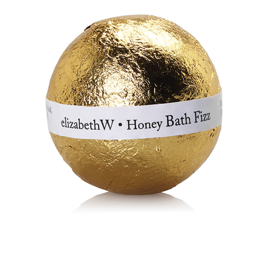 Foil wrapped elizabethW Fizz Ball Honey