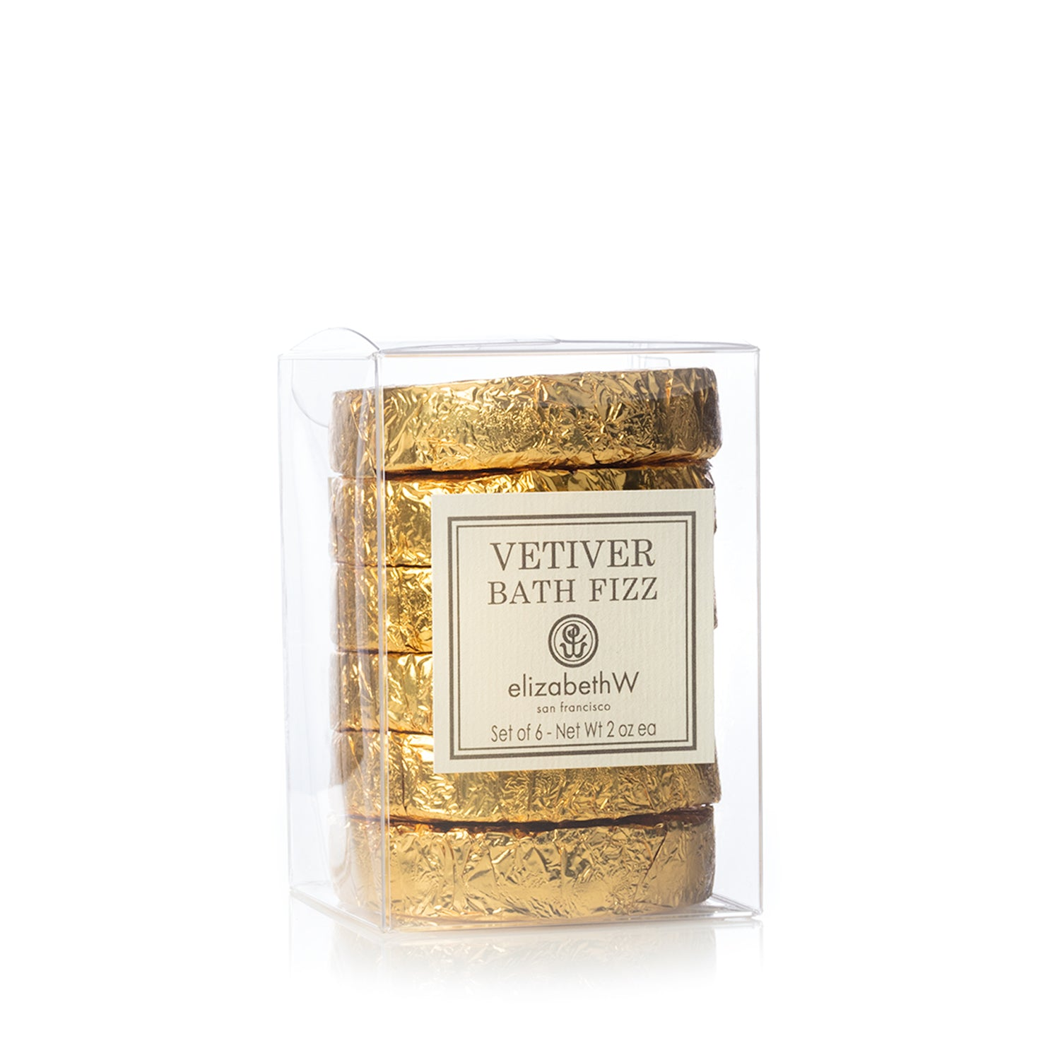 Vetiver Set of 6 Fizz Tablets