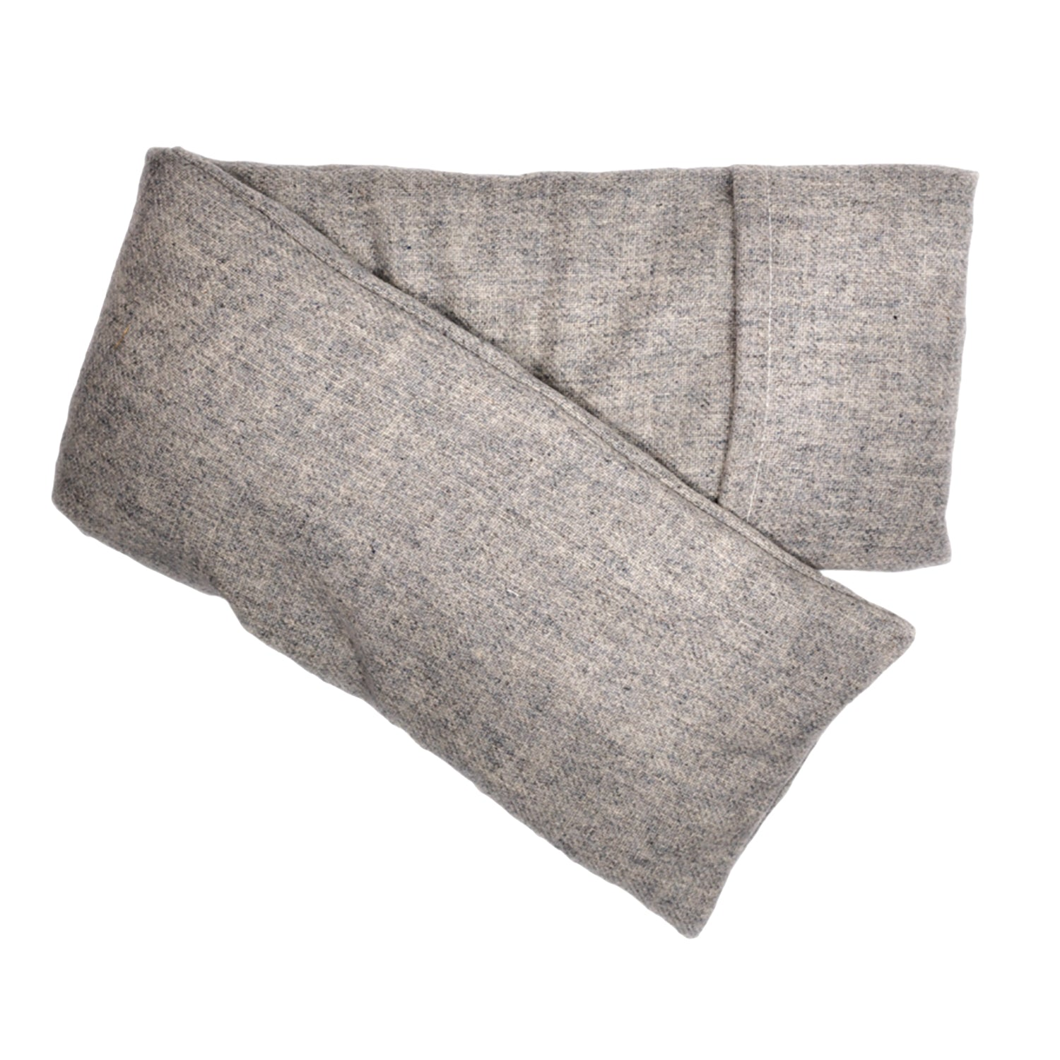 Wool - Heather Gray Hot/Cold Flaxseed Pack