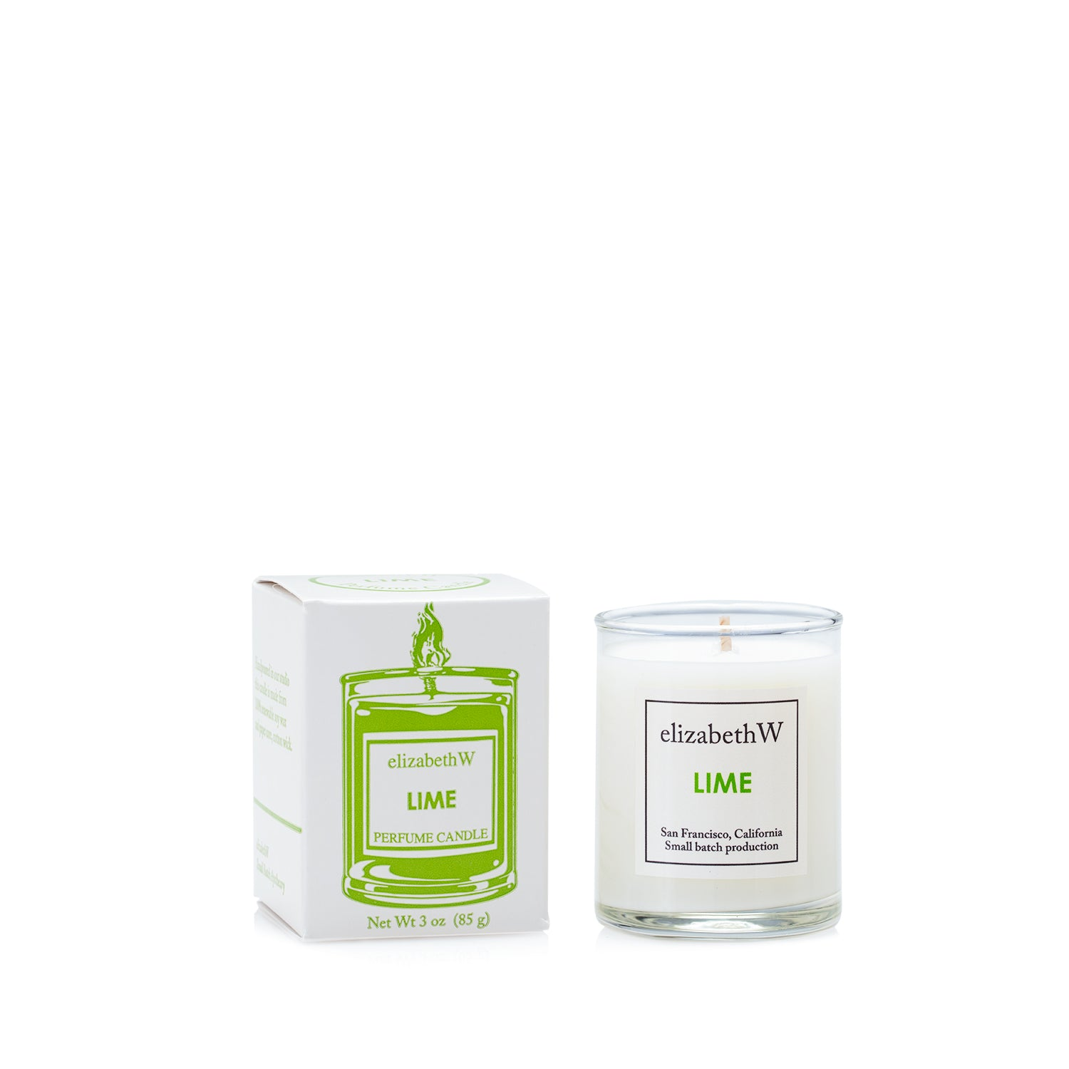 Lime Candle-Petite