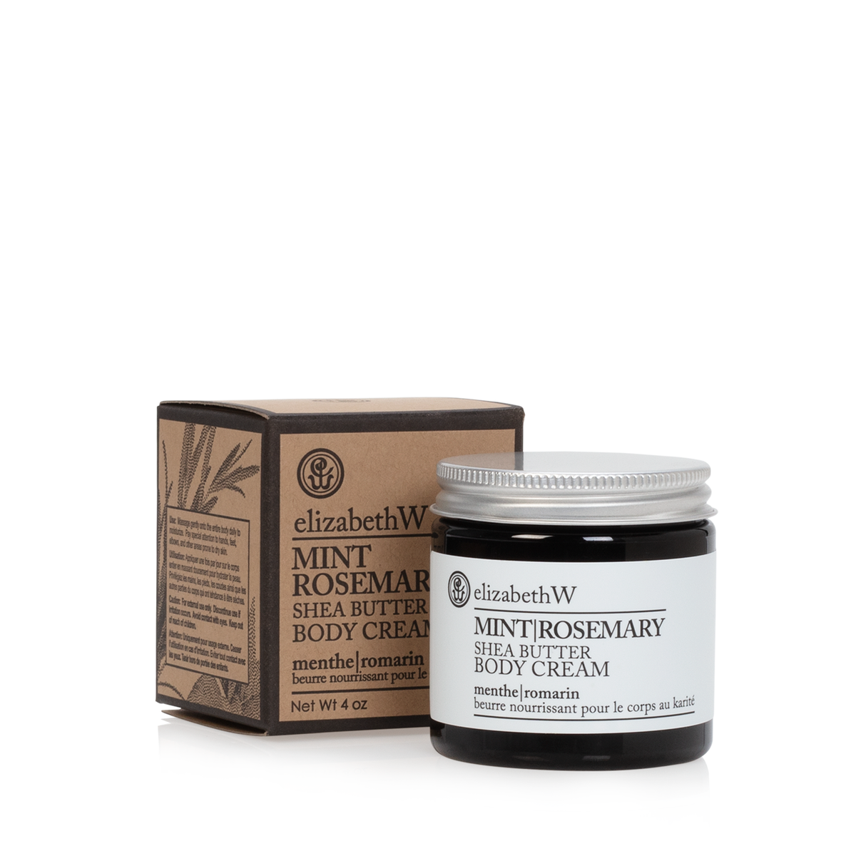 Mint Rosemary Body Cream