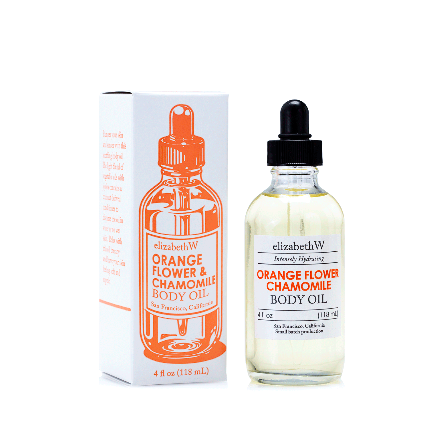 Orange Flower Chamomile Body Oil