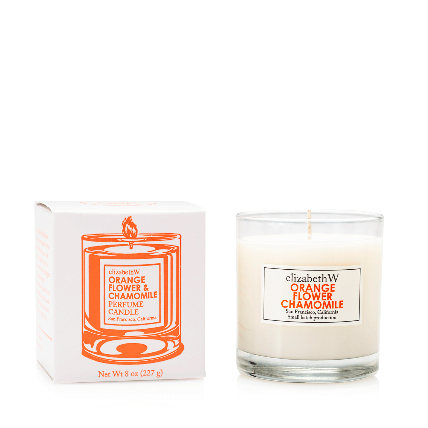 Orange Flower Chamomile Candle