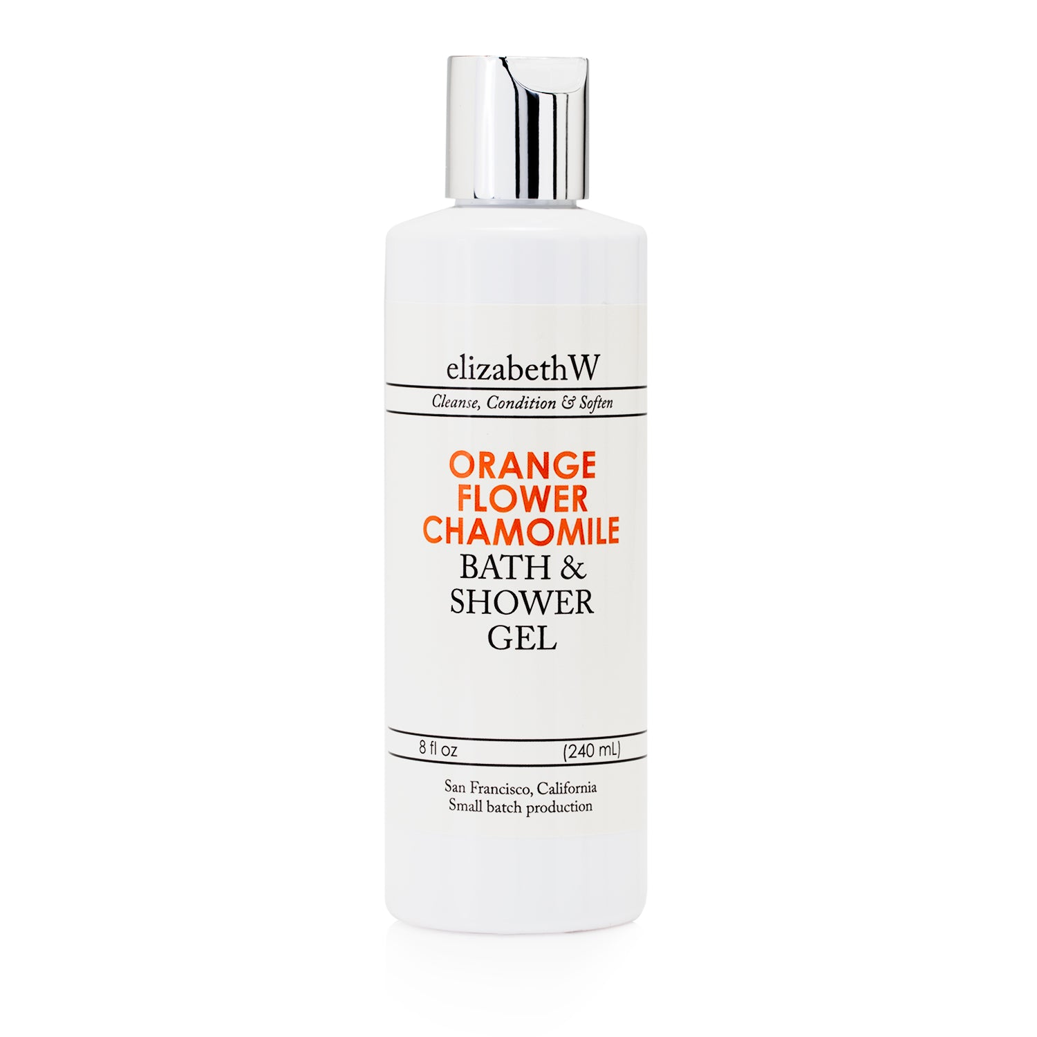 Orange Flower Chamomile Bath & Shower Gel