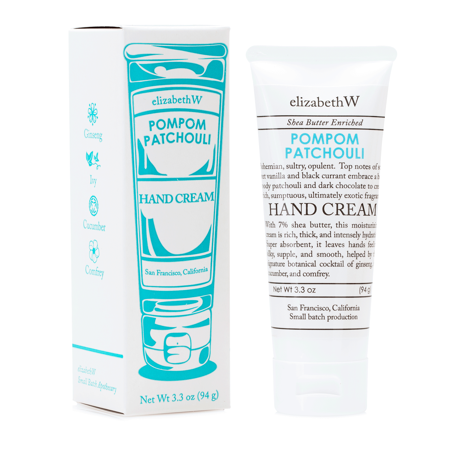Pompom Patchouli Hand Cream