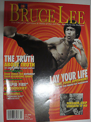 Bruce Lee: The Official Publication & Voice of the Jun Fan JKD Nucleus July 2000