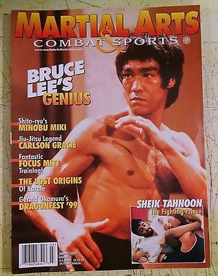 Martial Arts & Combat Sports- Bruce Lee's Genius, Minobu Miki, Carlson Gracie, Dragonfest '99, Mar. 2000