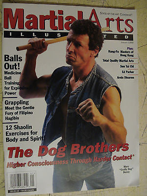 Martial Arts Illustrated - January 1999 THE DOG BROTHERS - Valley Martial Arts Supply