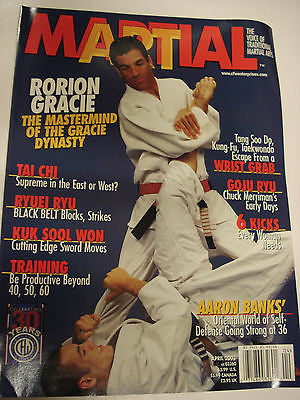 4/2003 Martial Art magazine Rorion Gracie - Valley Martial Arts Supply