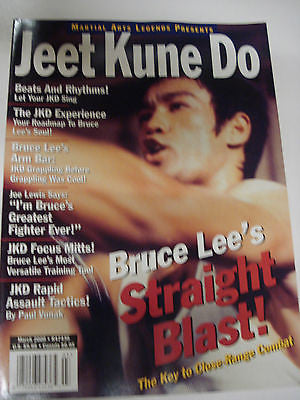 3/2000 Martial Arts Legends Presents JEET KUNE DO magazine - Valley Martial Arts Supply