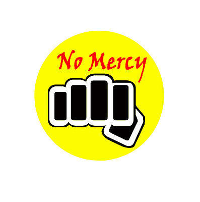 "Cobra Kai patch - round 4"" NO MERCY"
