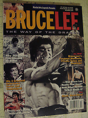 Martial Arts Legends Presents BRUCE LEE The Way of the Dragon Magazine Dec 1995 - Valley Martial Arts Supply