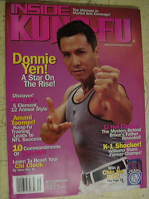 Inside Kung Fu - September 2003 DONNIE YEN - Valley Martial Arts Supply