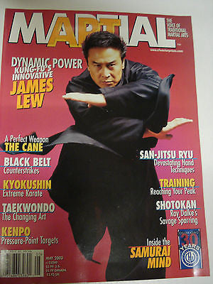 5/03 MARTIAL MAGAZINE RAY DALKE JAMES LEW KARATE KUNG FU MARTIAL ARTS - Valley Martial Arts Supply