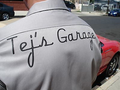 Brian O/'conner/'s replica shirt Tej/'s Garage shirt THE FAST AND THE FURIOUS