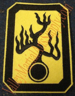 "Bruce Lee ""Enter The Dragon"" Han's Tournament Patch - Valley Martial Arts Supply"