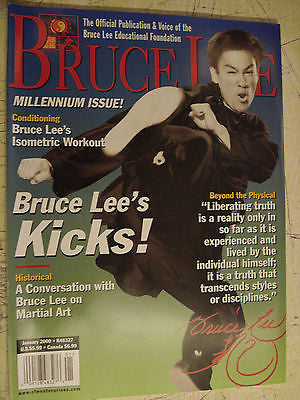 Bruce Lee: The Official Publication & Voice of the Jun Fan JKD Nucleus Jan 2000