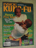 Inside Kung Fu - October 2003 Henry Poo Yee  and  Black Eyed Peas - Valley Martial Arts Supply