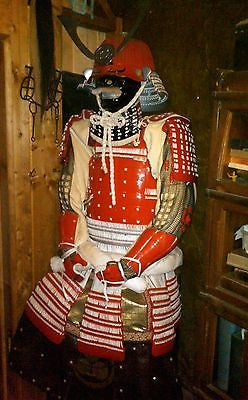 Samurai Armor, late Edo period Tosei Gusoku Parade Armor - Valley Martial Arts Supply