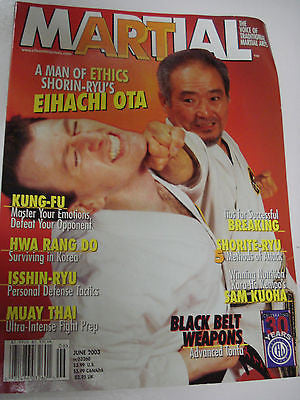 6/2003 Martial Art magazine EIHACHI OTA, SAM KUOHA - Valley Martial Arts Supply