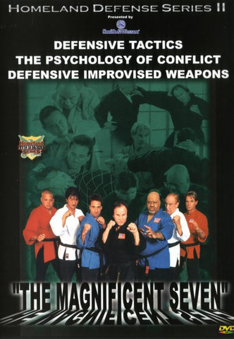 Benny the Jet, Gene LeBell, Ron Chapel, Bill Ryusaki, Richard Norton - The Magnificent Seven DVD - Valley Martial Arts Supply