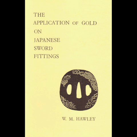 Application of Gold on Japanese Sword Fittings book - Valley Martial Arts Supply