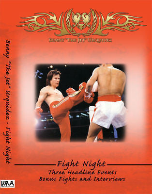 "Benny ""The Jet"" Urquidez - Fight Night - DVD - Valley Martial Arts Supply"