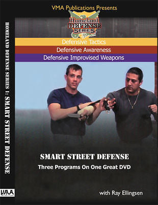 Smart Street Defense  DVD - HD1 with Ray Ellingsen - Valley Martial Arts Supply