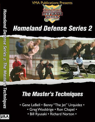 Master's Techniques - HD2 DVD - Valley Martial Arts Supply