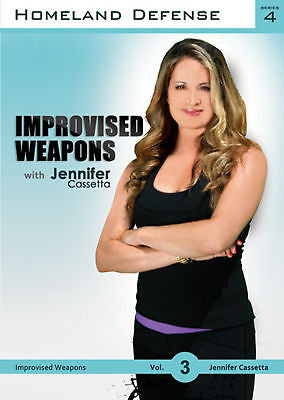 Improvised Weapons - Homeland Defense Series 4  DVD - Valley Martial Arts Supply