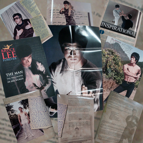 Bruce Lee Forever Poster Magazine, THE MAN, Chris Ledda Tribute
