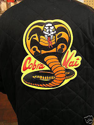 "Cobra Kai patch - large 11"" back patch - Valley Martial Arts Supply"