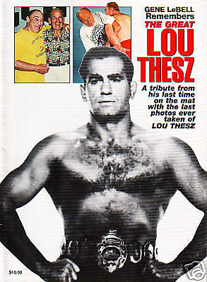The Great Lou Thesz - Valley Martial Arts Supply