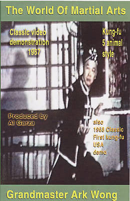 Ark Wong and 1968 Kung Fu Exhibition - Rare Footage DVD - Valley Martial Arts Supply