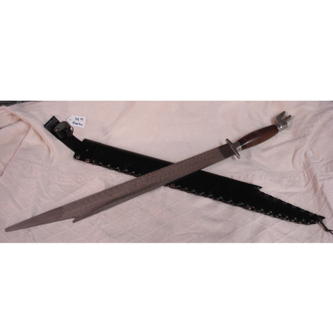 Kampilan Steel Training Sword - Valley Martial Arts Supply