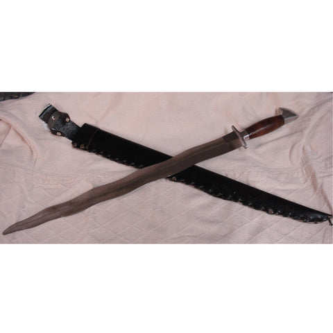 Kris Steel Training Sword - Valley Martial Arts Supply