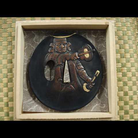 Date Masamune tsuba - Valley Martial Arts Supply