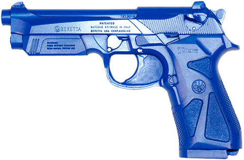 Blue Guns - Rubber Handguns - Valley Martial Arts Supply