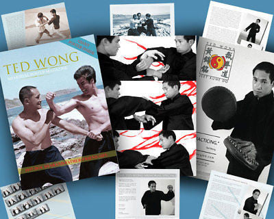 Ted Wong Memorial Poster Magazine (of Bruce Lee fame) - Valley Martial Arts Supply