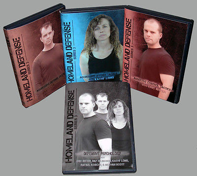 Aggressive, Assertive Control & Defense Tactics - 4 DVDs Special Set - Valley Martial Arts Supply