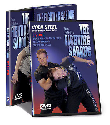 Cold Steel & Ron Balicki's - The Fighting Sarong  2-DVD Boxed Set - Valley Martial Arts Supply