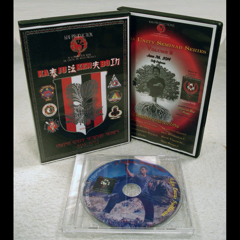 KaJuKenBo Instructional Seminar - Special 3 DVD set - Valley Martial Arts Supply