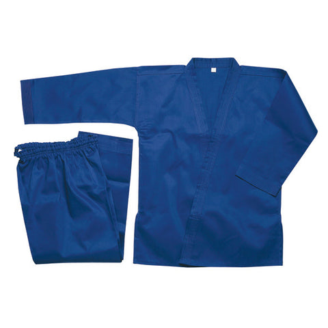 Karate Gi, Blue - 8oz - Valley Martial Arts Supply